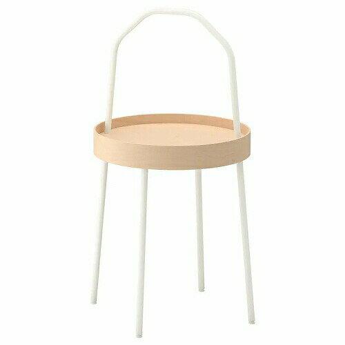 IKEA イケア BURVIK ブールヴィーク サイドテーブル ホワイト 白 z20340391