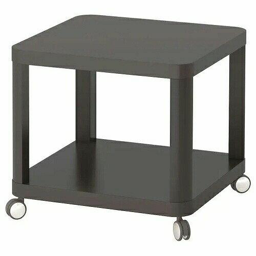IKEAイケアTINGBYティングビーサイドテーブルキャスター付きグレー50x50cmz70349445