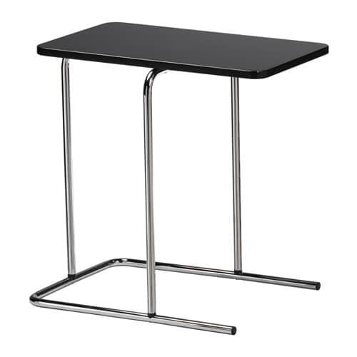 IKEAイケアRIANリーアンサイドテーブルブラック黒50x30cmz90393512