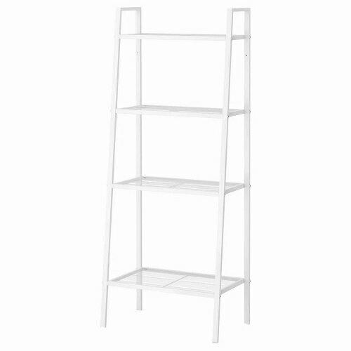 IKEA イケア LERBERG レールベリシェルフユニット ホワイト 白 60x148cm 60168529
