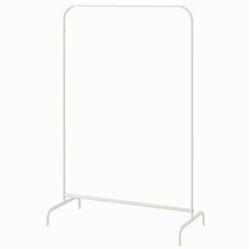 IKEA イケア MULIG 洋服ラック ホワイト 白 a80179433