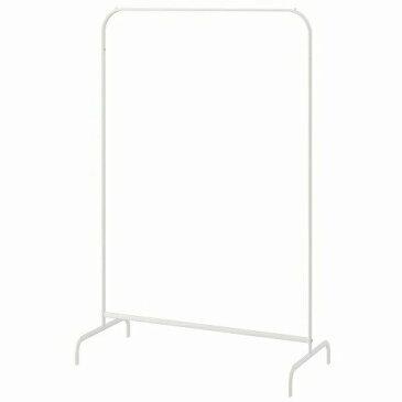 IKEA イケア MULIG 洋服ラック ホワイト a80179433