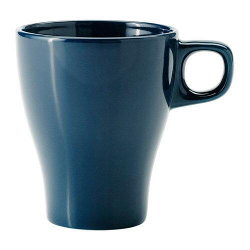 IKEA イケア FARGRIK マグカップ ダークターコイズ b60330564