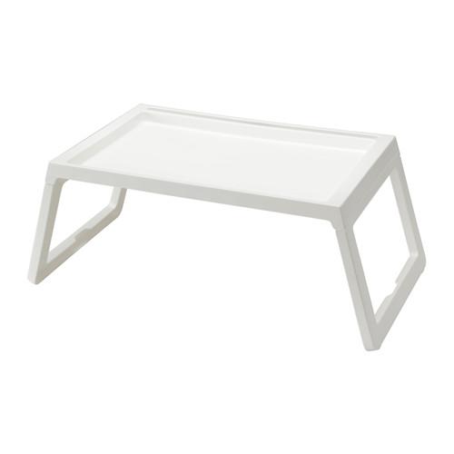 IKEA イケア KLIPSK ベッドトレイ ホワイト 白 d10289086