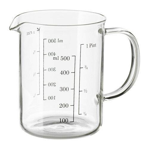 IKEA イケア 計量容器 ガラス d30323305 VARDAGEN
