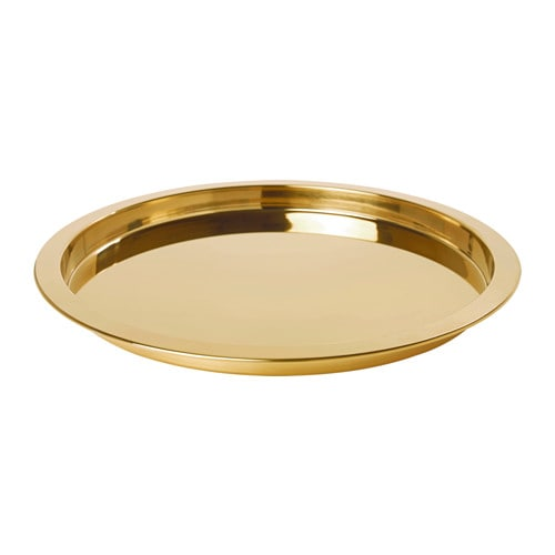 IKEA イケア GLATTIS トレイ 黄銅色 z50350114
