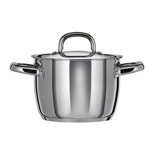 IKEA(イケア) OUMBARLIG 鍋 ふた付き d70286419