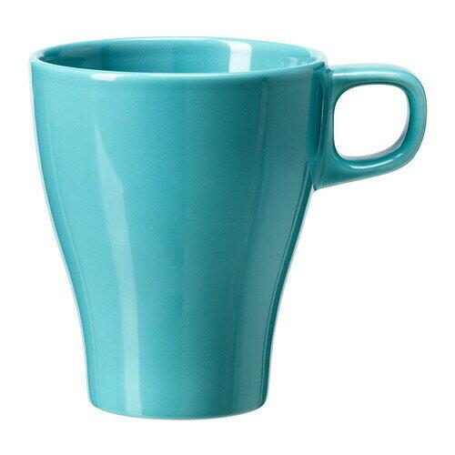 IKEA イケア FARGRIK マグカップ ターコイズ d80234806