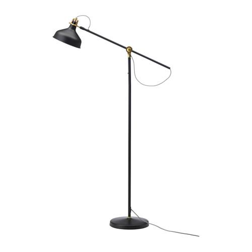 IKEA イケア フロア 読書 ランプ ブラック 黒 c40331381 RANARP