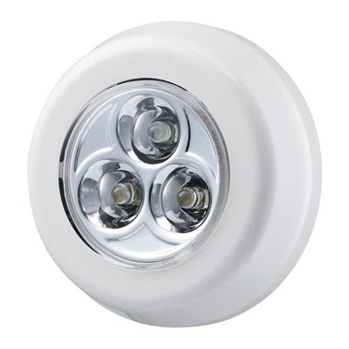 IKEA イケア LEDミニランプ 電池式 ホワイト 白 z90416858 RAMSTA