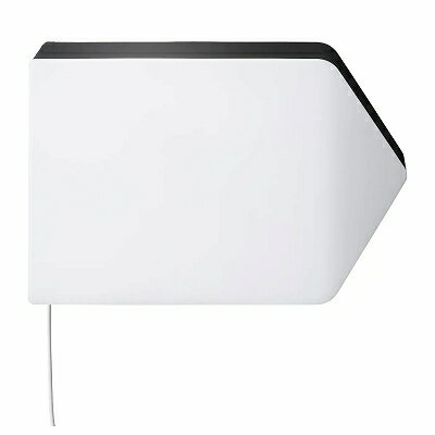 IKEA イケア LEDウォールランプ 矢印 ホワイト 白 ブラック 黒 n60422988 BAGAREN