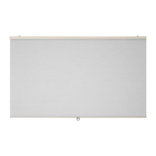 IKEA イケア 断熱ブラインド ホワイト 白 80x155cm d30290625 HOPPVALS