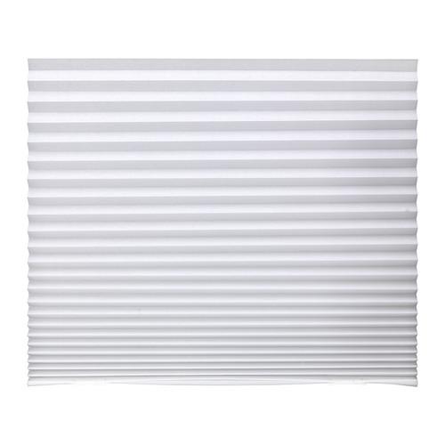 IKEA イケア プリーツブラインド ホワイト 白 90x190cm d40242281 SCHOTTIS