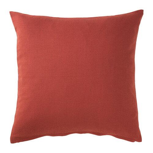 IKEA イケア クッションカバー レッドオレンジ 赤 50x50cm 30326530 VIGDIS