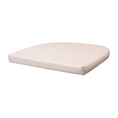 IKEA イケア NORNA チェアパッド ライラ ナチュラル 70190186