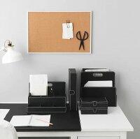 IKEA イケア RISSLA デスクオーガナイザー ブラック a00246163