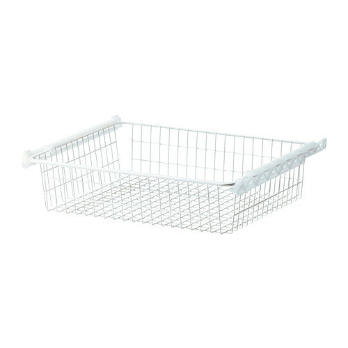 IKEA イケア STUVA GRUNDLIG ワイヤーバスケット ホワイト 白 a20165207