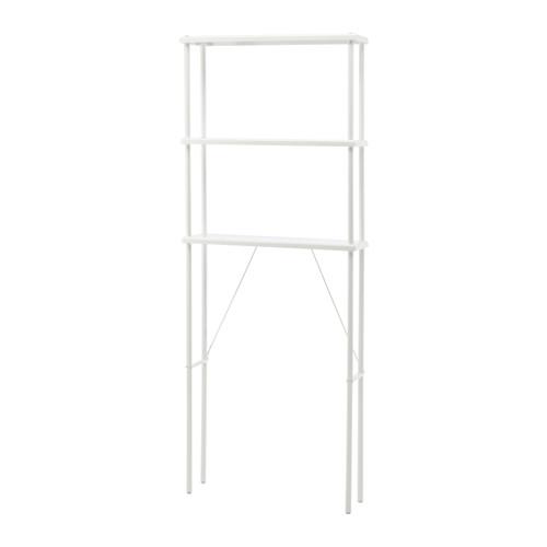 IKEA イケア DYNAN オープン収納 ホワイト 白 b90318179