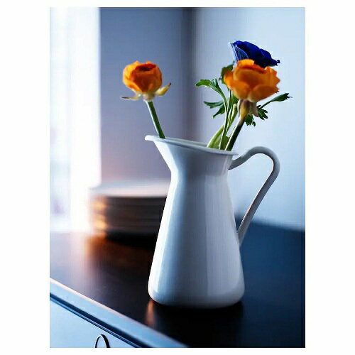 IKEA(イケア) SOCKERART 花瓶 ホワイト d10191631