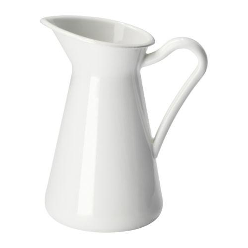 IKEA イケア SOCKERART 花瓶 ホワイト 白 d10191631