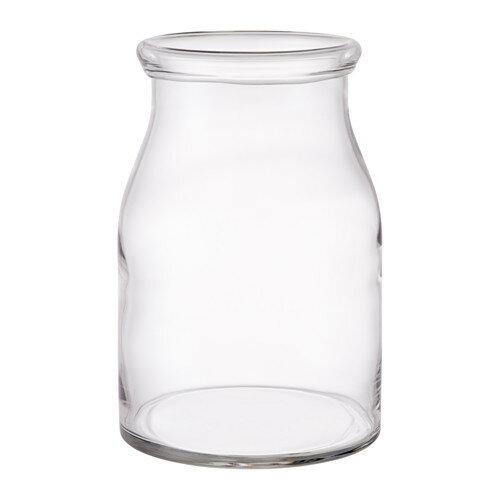 IKEA イケア BEGARLIG 花瓶 クリアガラス d10309782