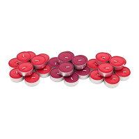 IKEAイケアSINNLIG香り付きキャンドルメタルカップ入りレッドガーデンベリー30ピースレッド赤d30337388