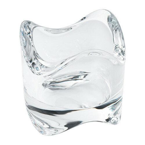 IKEA(イケア) VASNAS ティーライトホルダー クリアガラス d50276973