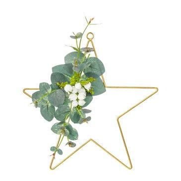 IKEA(イケア) SMYCKA スミッカ 造花のリース 室内/屋外用 星 z60399006