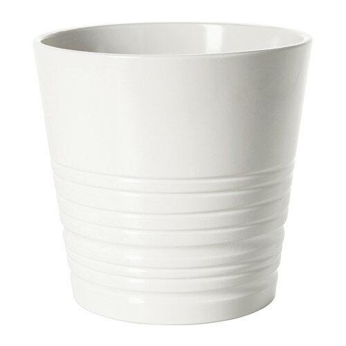 IKEA(イケア) MUSKOT 鉢カバー ホワイト E70308204