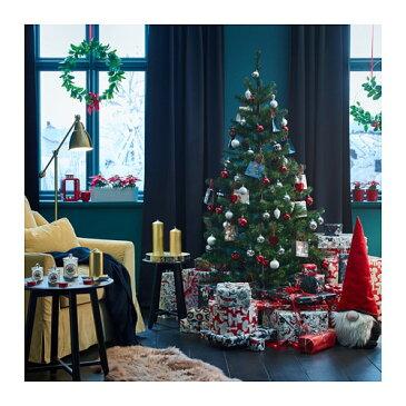 IKEA(イケア) SMYCKA スミッカ 造花のリース 室内/屋外用 セイヨウヒイラギ z80398973