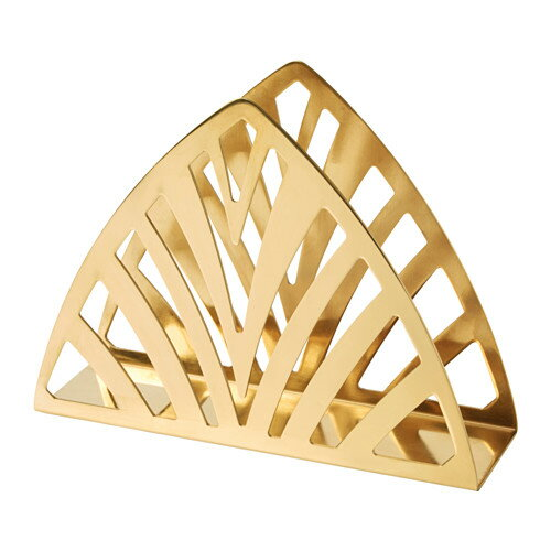 IKEA イケア TILLSTALLNINGナプキンホルダー 黄銅色 z10350111