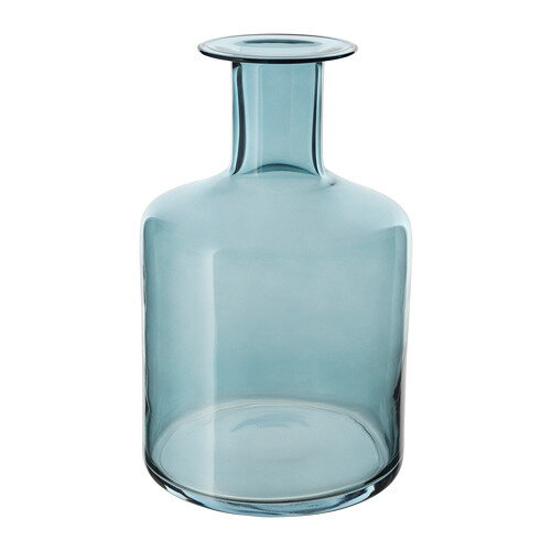 IKEA イケア PEPPARKORN ペッパルコルン 花瓶 ブルー 青 z30392657