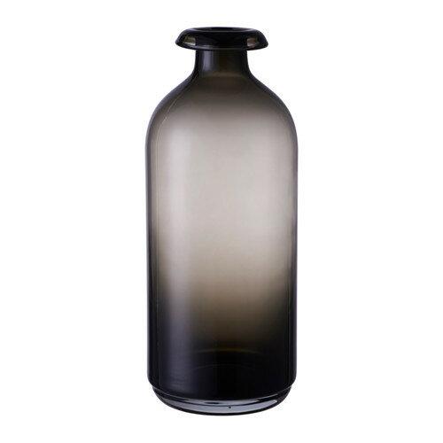 IKEA イケア ATGANG 花瓶 グレー d60309770