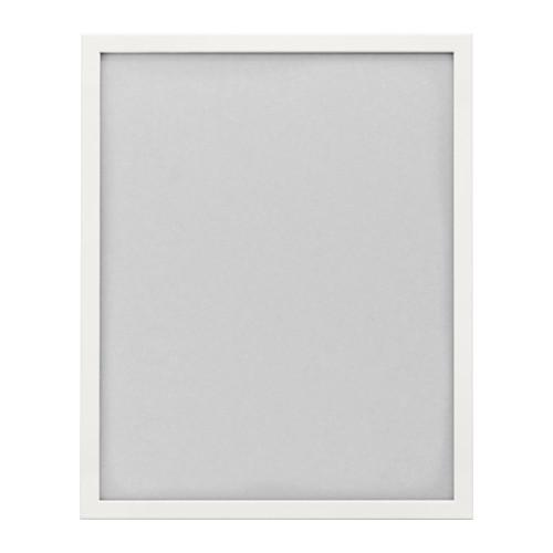 IKEA イケア FISKBO フレーム 40×50cm ホワイト 白 d80300467