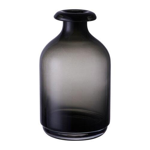 IKEA イケア ATGANG 花瓶 グレー d80309769