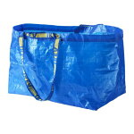 ★送料無料★【IKEA(イケア)】FRAKTAキャリーバッグLブルー