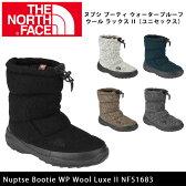 セール開催中!【ノースフェイス/THE NORTH FACE】 ブーツ ヌプシ ブーティ ウォータープルーフ ウール ラックス II(ユニセックス) Nuptse Bootie WP Wool Luxe II NF51683 【NF-FOOT】 即日発送