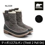 ソレルSORELティボリ2プルオン(Tivoli2PullOn)NL2329レディース【靴】【ブーツ】ショートブーツ防水機能雪スノーおしゃれ