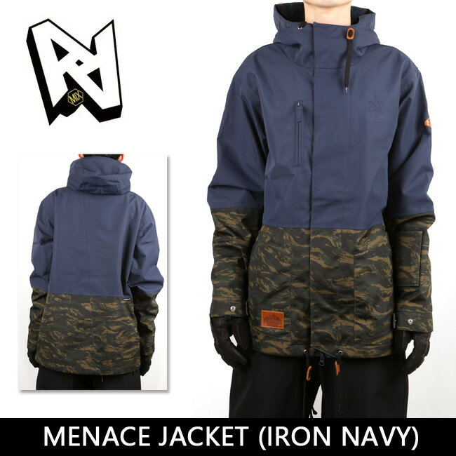 MENACE JACKET IRON NAVY