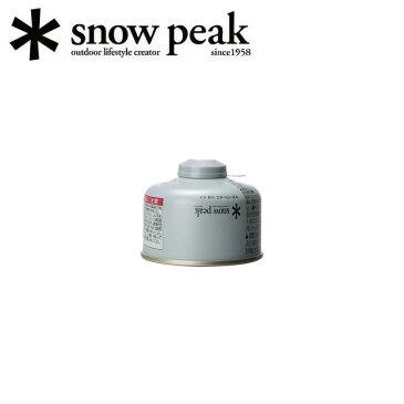 スノーピーク (snow peak) ガスカートリッジ GigaPower Fuel 110 Iso ギガパワーガス 110イソ GP-110SR 【SP-STOV】【BBQ】【GLIL】燃料 ガス ストーブ・ランタン 【clapper】