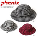 PHENIX フェニックス 帽子 HOUNDS TOOTH HAT FTWD57…
