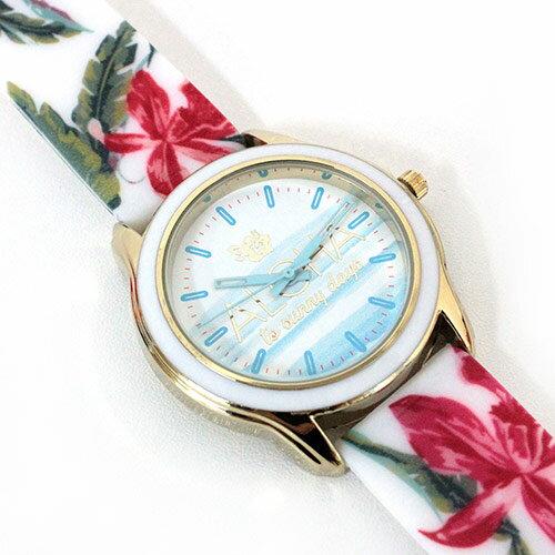 Kahikoアロハカラーウォッチ腕時計花柄 ハワイアン雑貨/ハワイ雑貨/ハワイ/おしゃれ/ハイビスカス/花柄/可愛い