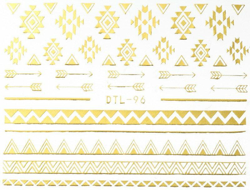ネイルシール, デコネイルシール  DTL-96