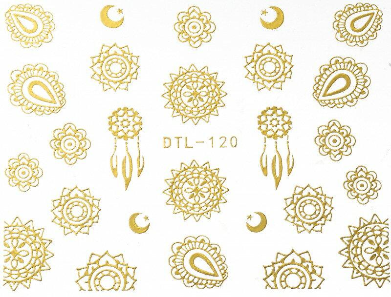 ネイルシール, デコネイルシール  Fashion Sale DTL-120