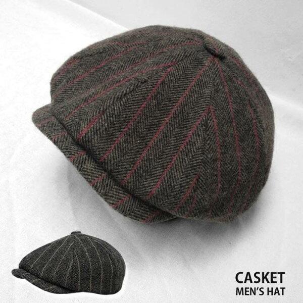 キャスケットメンズ帽子ハンチング帽大きいサイズ春秋冬ネコポス