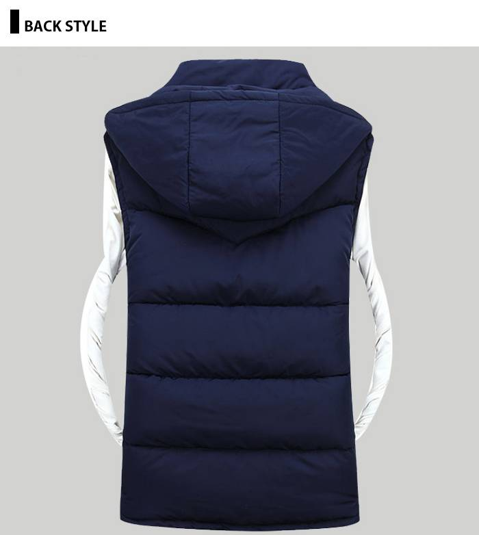 ベスト メンズ ジャケット ジャケット フード...の紹介画像3