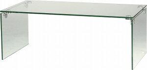 【メーカー直送】ガラステーブルセンターテーブルPT-26東谷ガラステーブルセンターテーブル【送料無料】