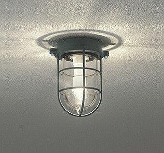 照明器具 おしゃれ マリンランプ インダストリアル ヴィンテージ ポーチライト LED(電球色) OG254608LD
