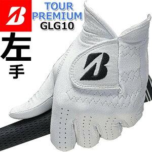 【左手用】【2020年モデル】【ブリヂストン】TOUR PREMIUM GOLF GLOVE GLG10 ツアー プレミアム ゴルフ グローブ ホワイト【サイズ:21〜26cm】 【BRIDGESTONE GOLF】【日本正規品】【ネコポス便対応】