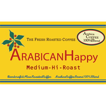 2kgComboCCRアラビカンハッピーコーヒー豆1.1lb(500g)×4袋セット